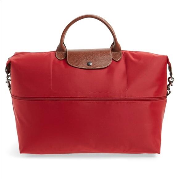 Longchamp Bags   Le Pilage Expandable Duffel   Poshmark 33a8b8491e